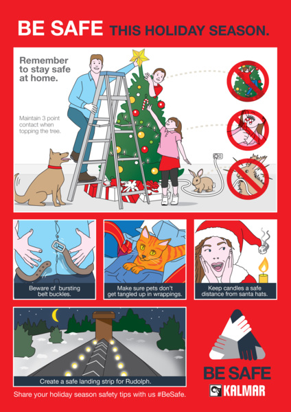 KALM0560 --Holiday Season Be Safe -JPG